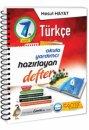 7. Sınıf Türkçe Hazırlayan Defter Mesut Hayat Çanta Yayınları