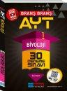 YKS 2. Oturum AYT Biyoloji Video Çözümlü 30 Deneme Sınavı Evrensel İletişim Yayınları