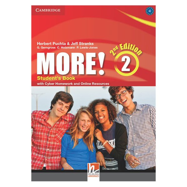 More Level 2 Students Book With Interactive Cd-rom
