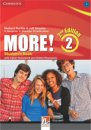 More! Level 2 Student's Book with Workbook Interactive CD-ROM 2. Edition