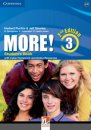 Cambrdige More! Level 3 Student's Book with Workbook and Online Resources 2nd Edition