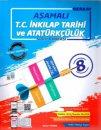 8. Sınıf T.C. İnkilap Tarihi ve Atatürkçülük Aşamalı Soru Bankası Berkay Yayınları