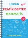 5. Sınıf Pratik Defter Matematik Sadık Uygun Yayınları