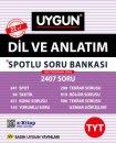 12.Sınıf Spotlu Dil ve Anlatım  1 Soru Bankası Sadık Uygun Yayınları