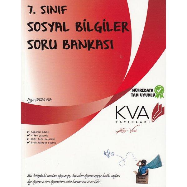 7. Sınıf Sosyal Bilgiler Soru Bankası KVA Yayınları