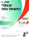 5. Sınıf Türkçe Soru Bankası KVA Yayınları