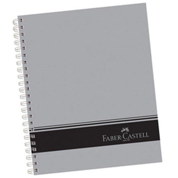 Faber-Castell Sert Kapak Seperatörlü 3+1+1 Gri Defter 200 Yaprak