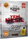 2019 KPSS Genel Yetenek Türkçe Sözel Mantık Soru Bankası Beyaz Kalem Yayınları