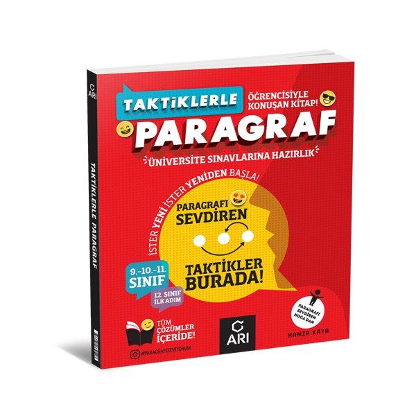Üniversite Sınavlarına Hazırlık Taktiklerle Paragraf Soru Bankası Arı Yayıncılık