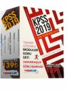 2019 KPSS Genel Yetenek Genel Kültür Tamamı Çözümlü Soru Bankası Modüler Set 5 Kitap Yediiklim Yayınları