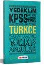 2019 KPSS Genel Yetenek Türkçe Tamamı Çözümlü Çıkmış Sorular Yediiklim Yayınları