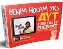 2019 YKS-AYT Türk Dili ve Edebiyatı Video Ders Notları Kadir Gümüş Benim Hocam Yayınları