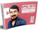 2019 KPSS Matematik Video Ders Notları İlyas Güneş Benim Hocam Yayınları