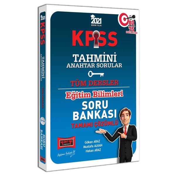 2021 KPSS Eğitim Bilimleri Tahmini Anahtar Sorular Tamamı Çözümlü Soru Bankası Yargı Yayınları