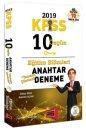 2019 KPSS Eğitim Bilimleri Tamamı Çözümlü 10 Özgün Anahtar Deneme Yargı Yayınları
