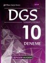 2019 DGS Tamamı Çözümlü 10 Deneme Pegem Yayınları