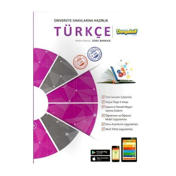 Üniversite Sınavlarına Hazırlık Türkçe Hibbit Serisi Soru Bankası Derspektif Yayınları