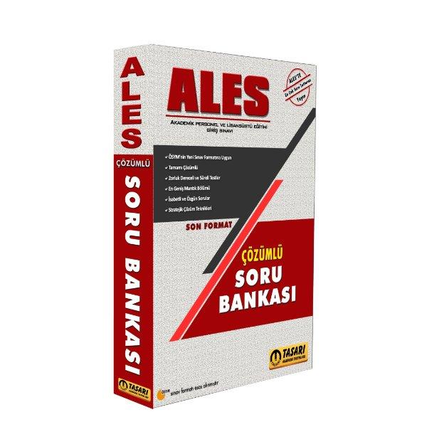 2019 ALES Çözümlü Soru Bankası Tasarı Yayınları