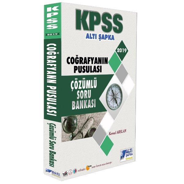 2019 KPSS Coğrafyanın Pusulası Çözümlü Soru Bankası Altı Şapka Yayınları