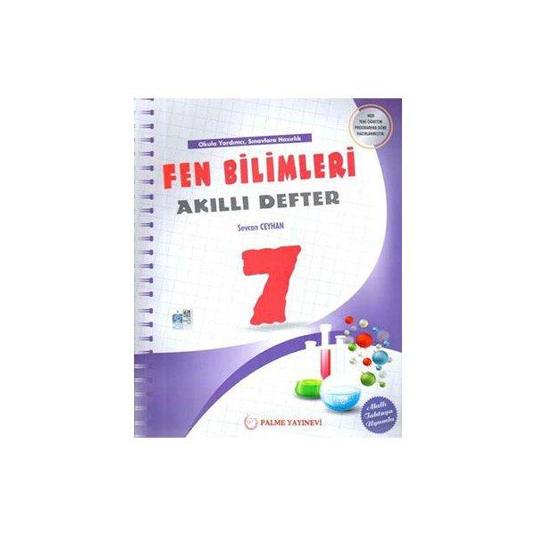 7. Sınıf Fen Bilimleri Akıllı Defter Palme Yayınları