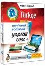 8. Sınıf LGS Türkçe Yaprak Test Çanta Yayınları