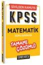 KPSS Matematik Tamamı Çözümlü Soru Bankası Şenol Hoca Yayınları