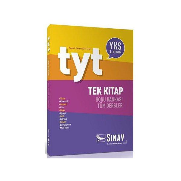 TYT Tüm Dersler Tek Kitap Soru Bankası Sınav Yayınları*