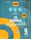 9. Sınıf 45 Adımda Matematik 2. Kitap 1561 Soru İsabet Yayınları