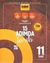 11. Sınıf 15 Adımda Tarih 756 Soru İsabet Yayınları