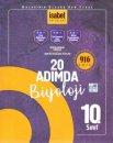 10. Sınıf 20 Adımda Biyoloji 916 Soru İsabet Yayınları