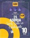 10. Sınıf 25 Adımda Türk Dili ve Edebiyatı 1420 Soru İsabet Yayınları