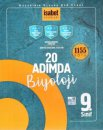 9. Sınıf 20 Adımda Biyoloji 1155 Soru İsabet Yayınları