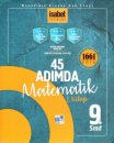9. Sınıf 45 Adımda Matematik 1. Kitap 1661 Soru İsabet Yayınları