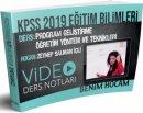 2019 KPSS Eğitim Bilimleri Program Geliştirme Öğretim Yöntem ve Teknikleri Video Ders Notları Zeynep Salman İçli Benim Hocam