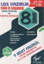 8. Sınıf LGS Son 9 Sınavın Çıkmış Soruları ve Ayrıntılı Çözümleri 1. Kitap Özgül Yayınları
