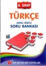 8.Sınıf Türkçe Soru Bankası Fen Bilimleri Yayınları