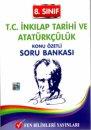 8.Sınıf LGS T.C.İnkilap Tarihi ve Atatürkçülük Soru Bankası Fen Bilimleri Yayınları