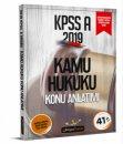 2019 KPSS A Grubu Kamu Hukuku Konu Anlatımı Beyaz Kalem Yayınları