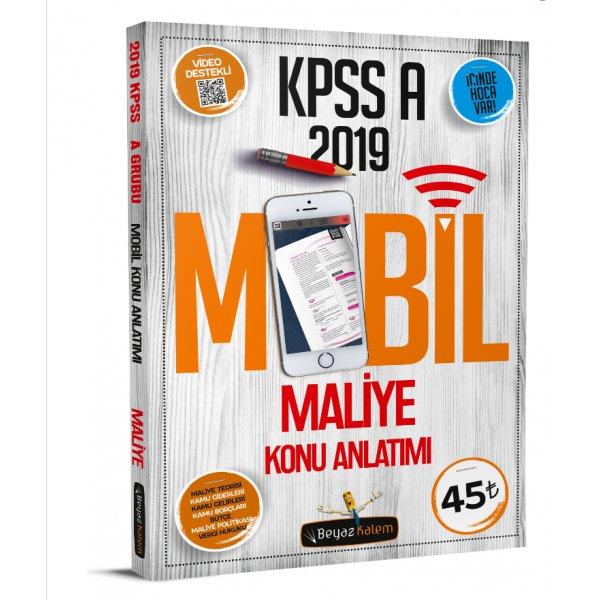 2019 KPSS A Grubu Maliye Mobil Konu Anlatımı Beyaz Kalem Yayınları