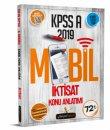2019 KPSS A Grubu İktisat Mobil Konu Anlatımı Beyaz Kalem Yayınları