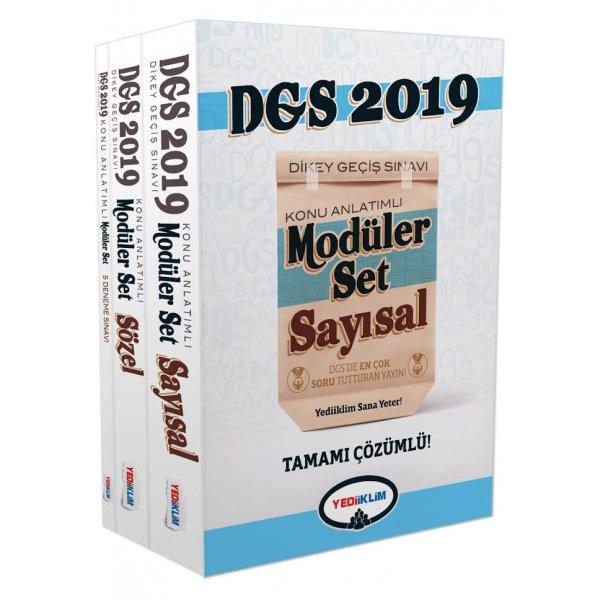 2019 DGS Konu Anlatımlı Modüler Set Yediiklim Yayınları