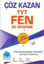 Çöz Kazan Yayınları TYT Fen Bilimleri Video Çözümlü 30 Deneme