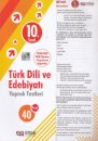10. Sınıf Türk Dili ve Edebiyatı 40 Yaprak Test Nitelik Yayınları