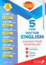 5. Sınıf Doctor English Kazanım Takip Denemeleri KVA Yayınları