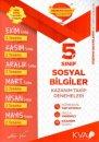 5. Sınıf Sosyal Bilgiler Kazanım Takip Denemeleri KVA Yayınları