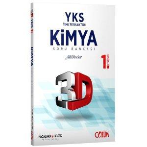YKS 1. Oturum Kimya 3D Soru Bankası Hocalara Geldik Çözüm Yayınları İşbirliği İle