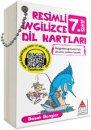 7. Sınıf Resimli İngilizce Dil Kartları Delta Kültür Yayınları