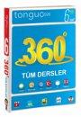 6. Sınıf 360 Derece Tüm Dersler Soru Bankası Cep Boy Tonguç Akademi Yayınları