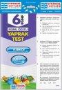 6. Sınıf Türkçe Konu Özetli Yaprak  Test Evrensel İletişim Yayınları