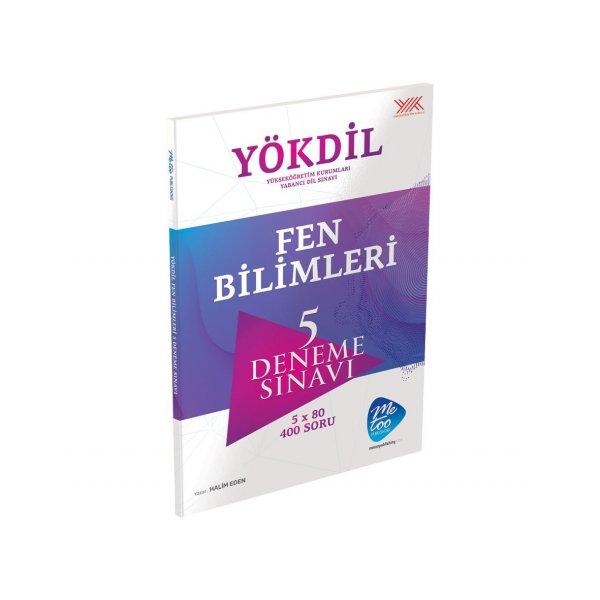 YÖKDİL Fen Bilimleri 5 Deneme Sınavı Murat Yayınları